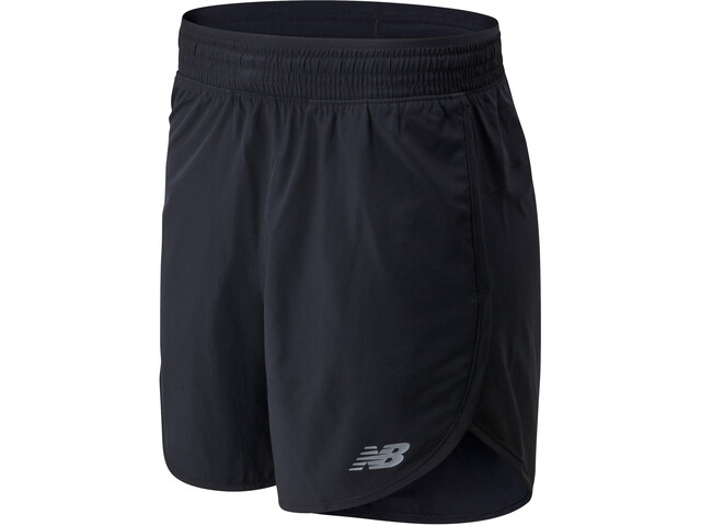 "New Balance Accelerate 5"" Shorts Dames, black"